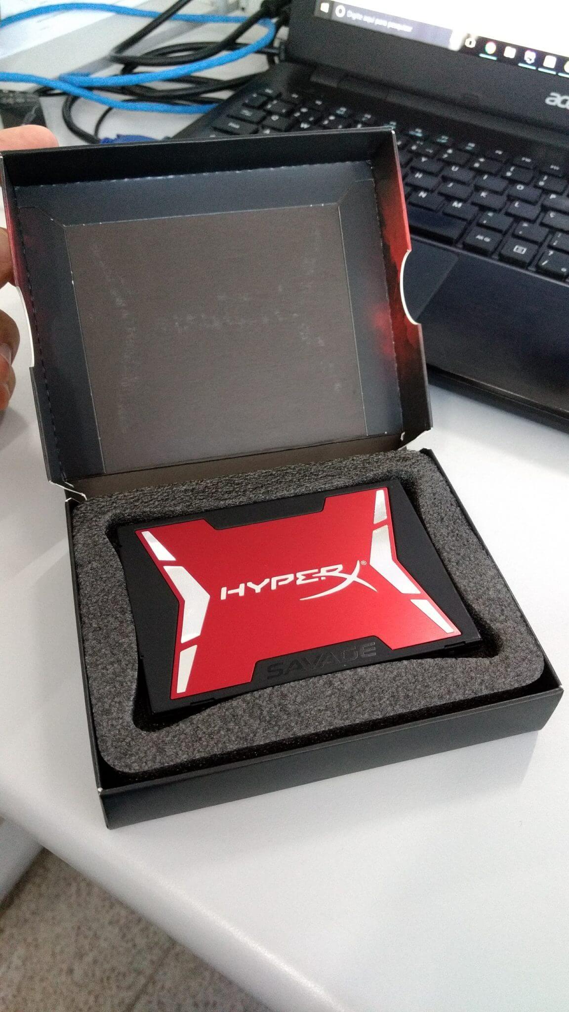 Review: SSD Kingston HyperX Savage 240GB