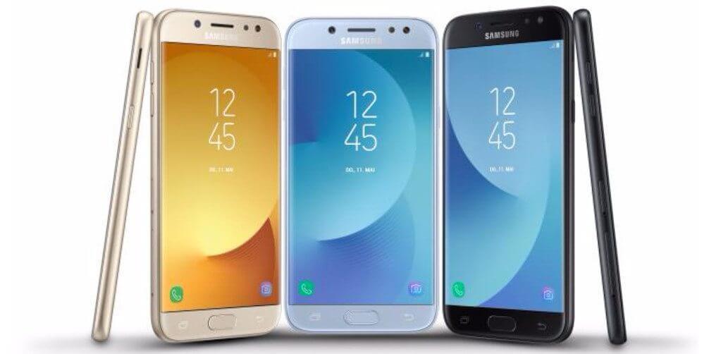 Nova linha Samsung Galaxy J 2017