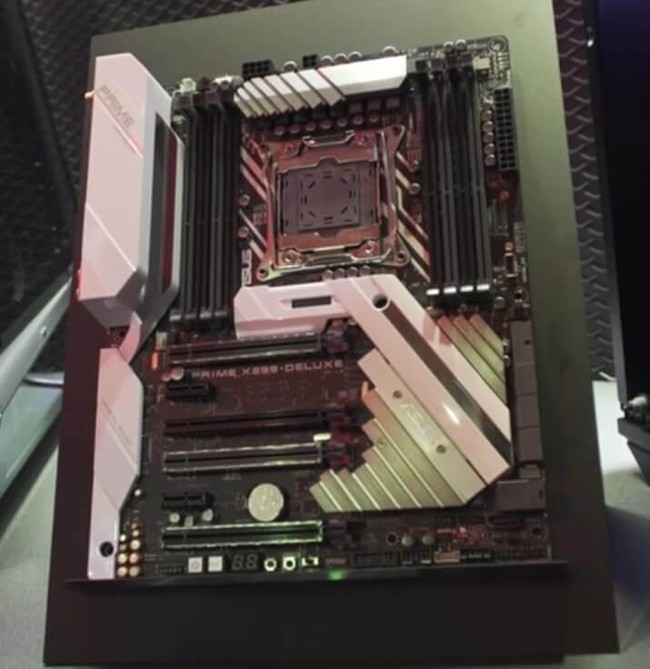 Placa-mãe Prime X299 Deluxe