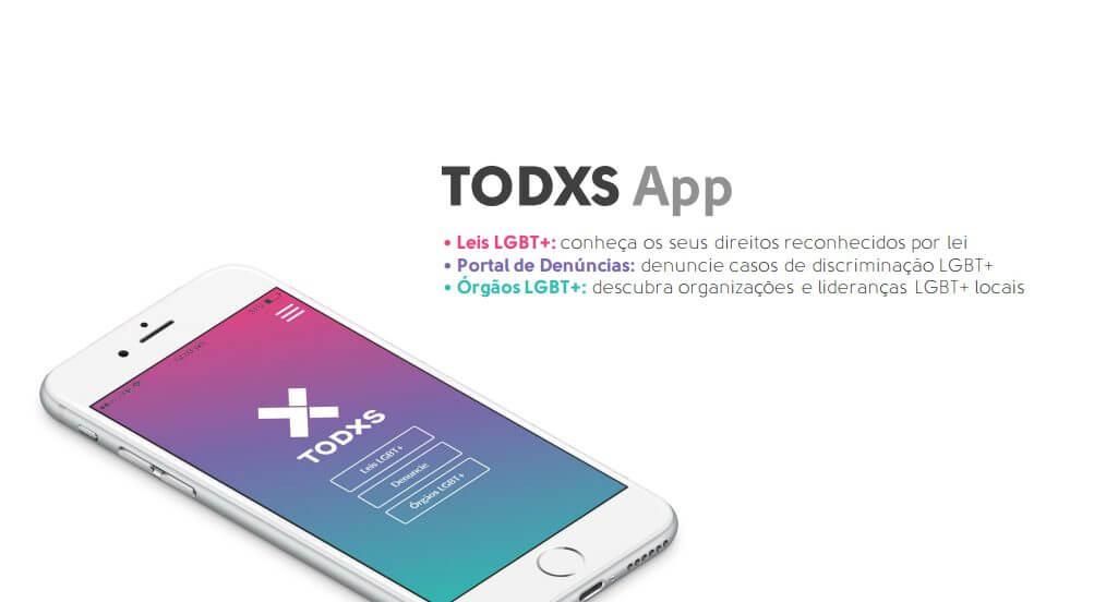 TODXS APP - TODXS app: mais direitos e representação para a comunidade LGBT+