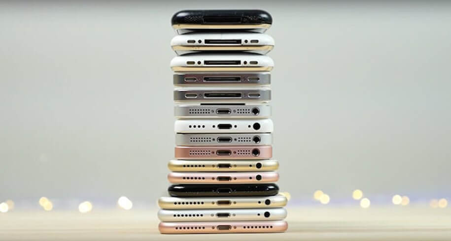 All iphones 1