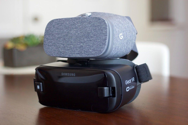 Óculos VR Daydream View vs Gear