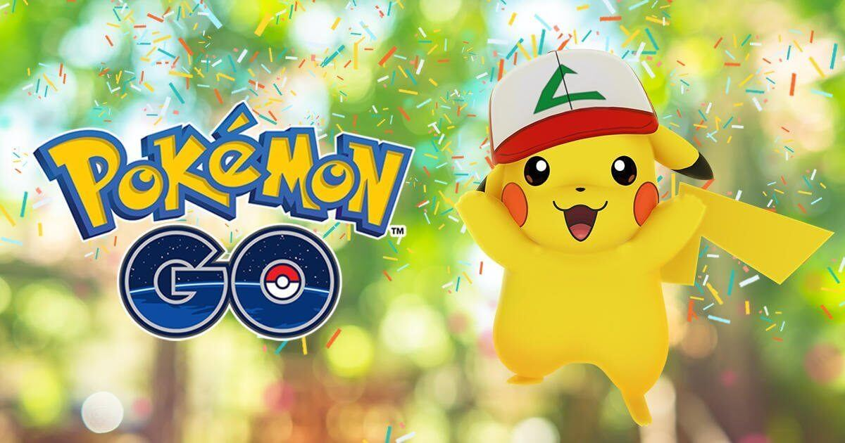 Feliz aniversário! Pokémon GO completa um ano com Pikachu temático