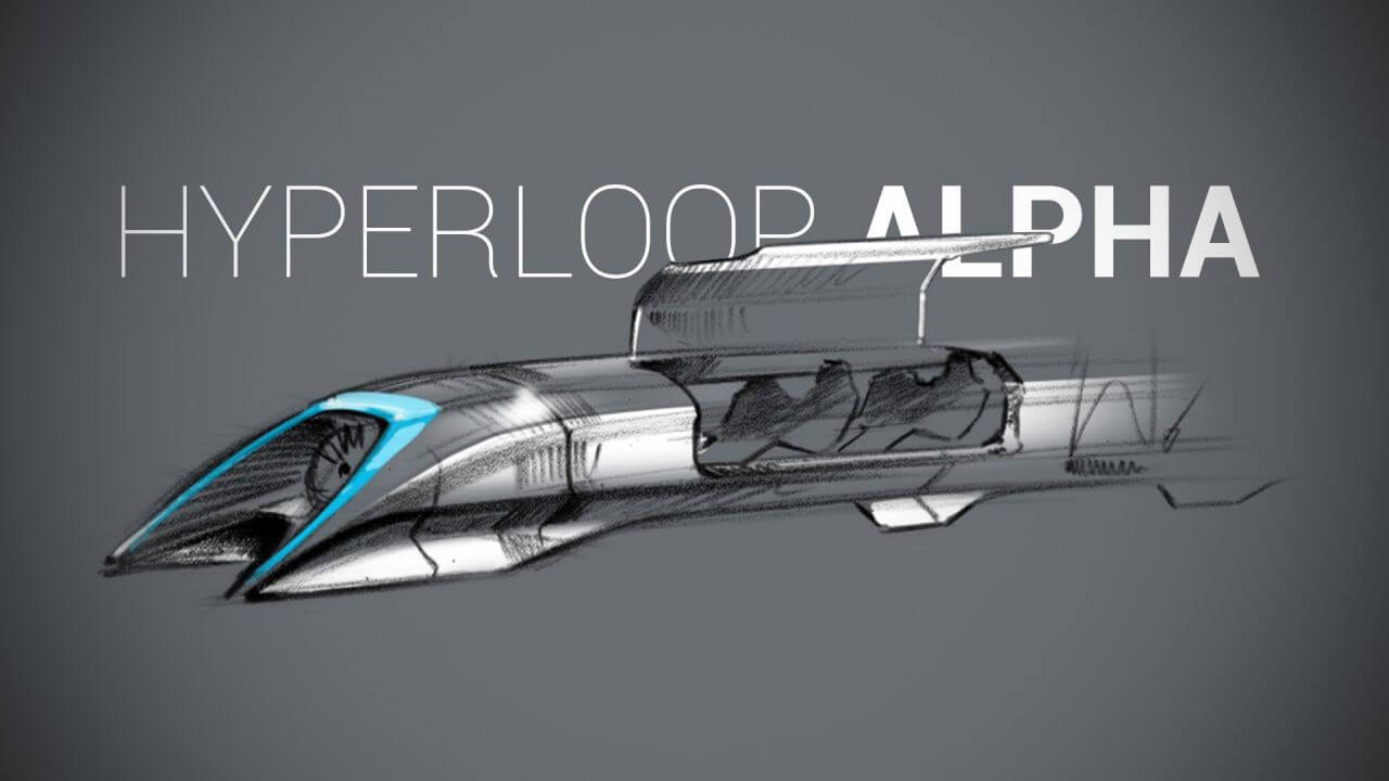 Elon Musk Hyperloop Concept