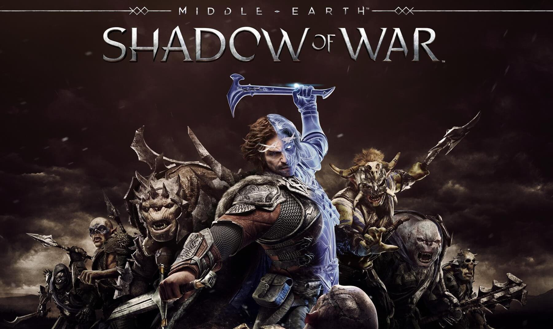 Middle earth shadow of warsombras da guerra
