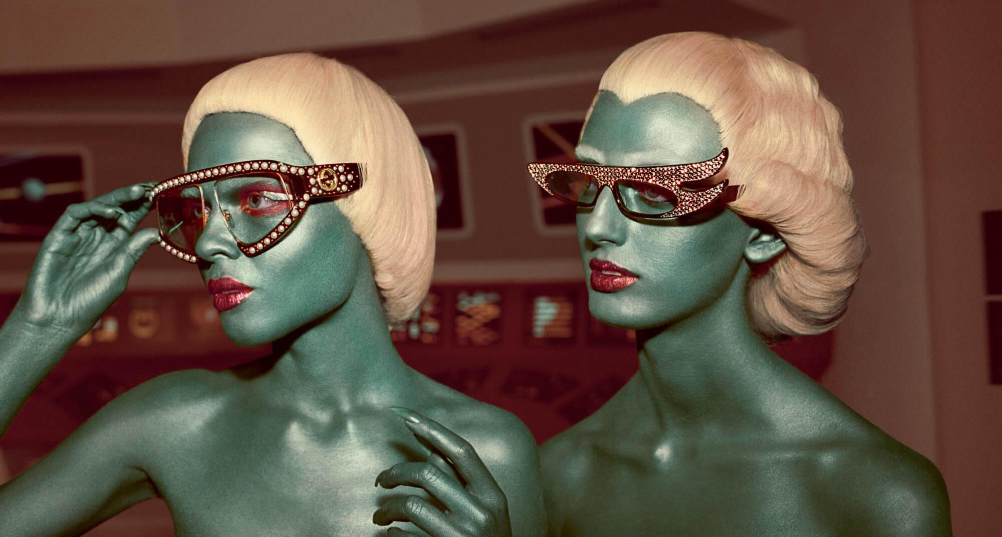 Uma surra de vintage sci-fi na mais nova campanha da Gucci