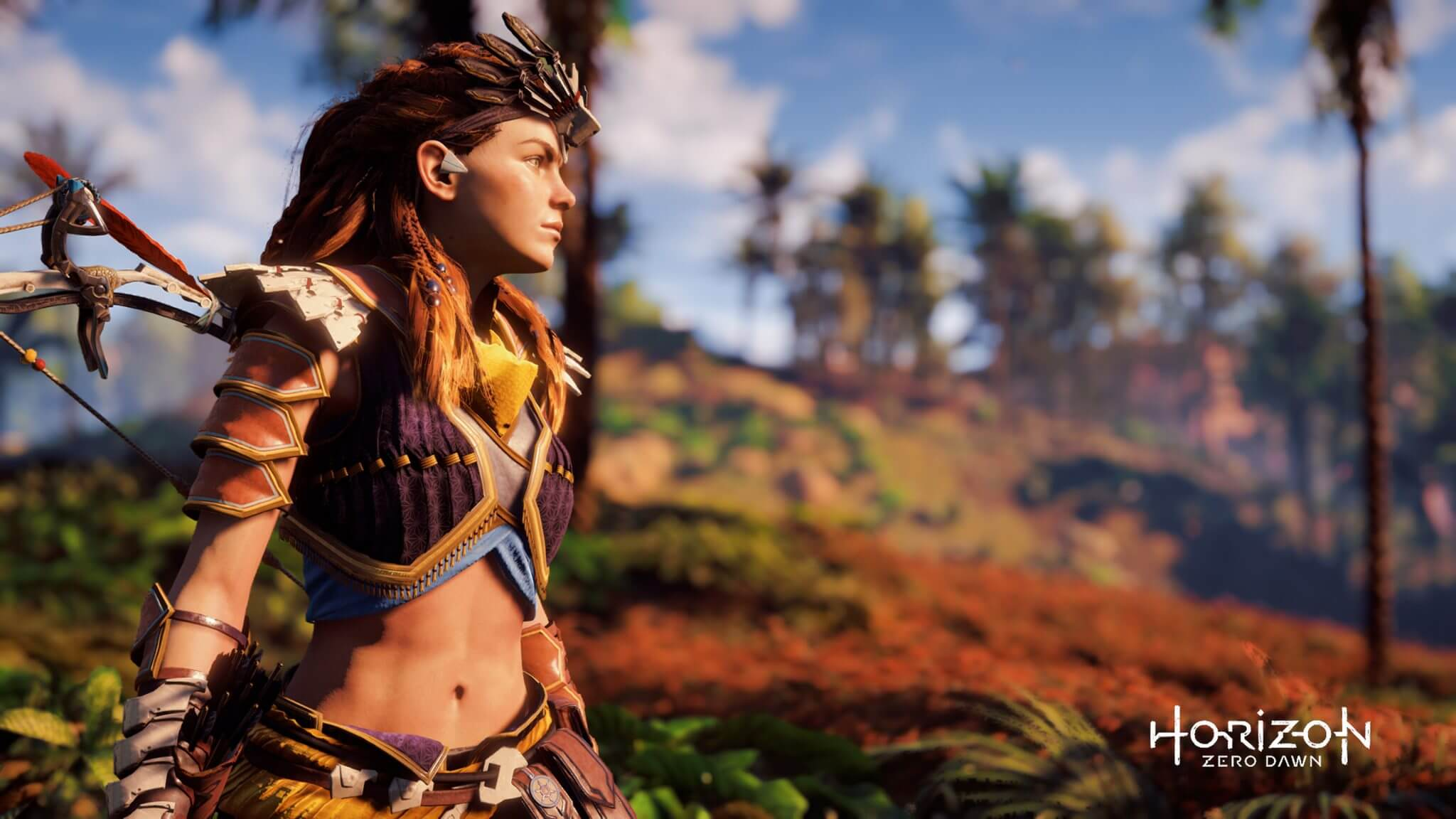 horizon zero dawn wall alphacoders com 2