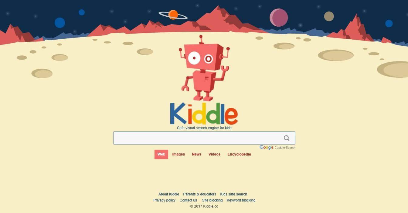 Kiddle é um Google seguro para crianças com resultados escolhidos a dedo
