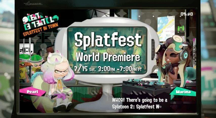 Saiba todos os detalhes da Direct de Splatoon 2 para Nintendo Switch