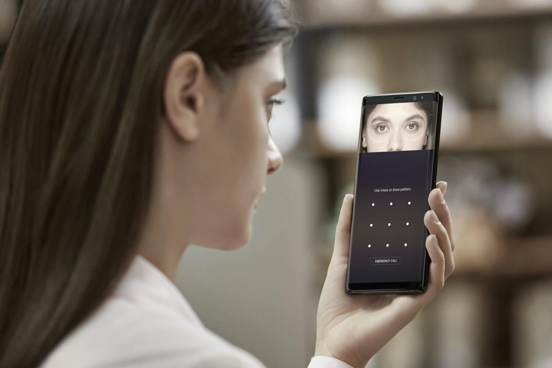 5. Galaxy note8 security iris