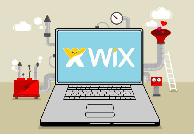 Wix te ajuda a criar seu site facilmente