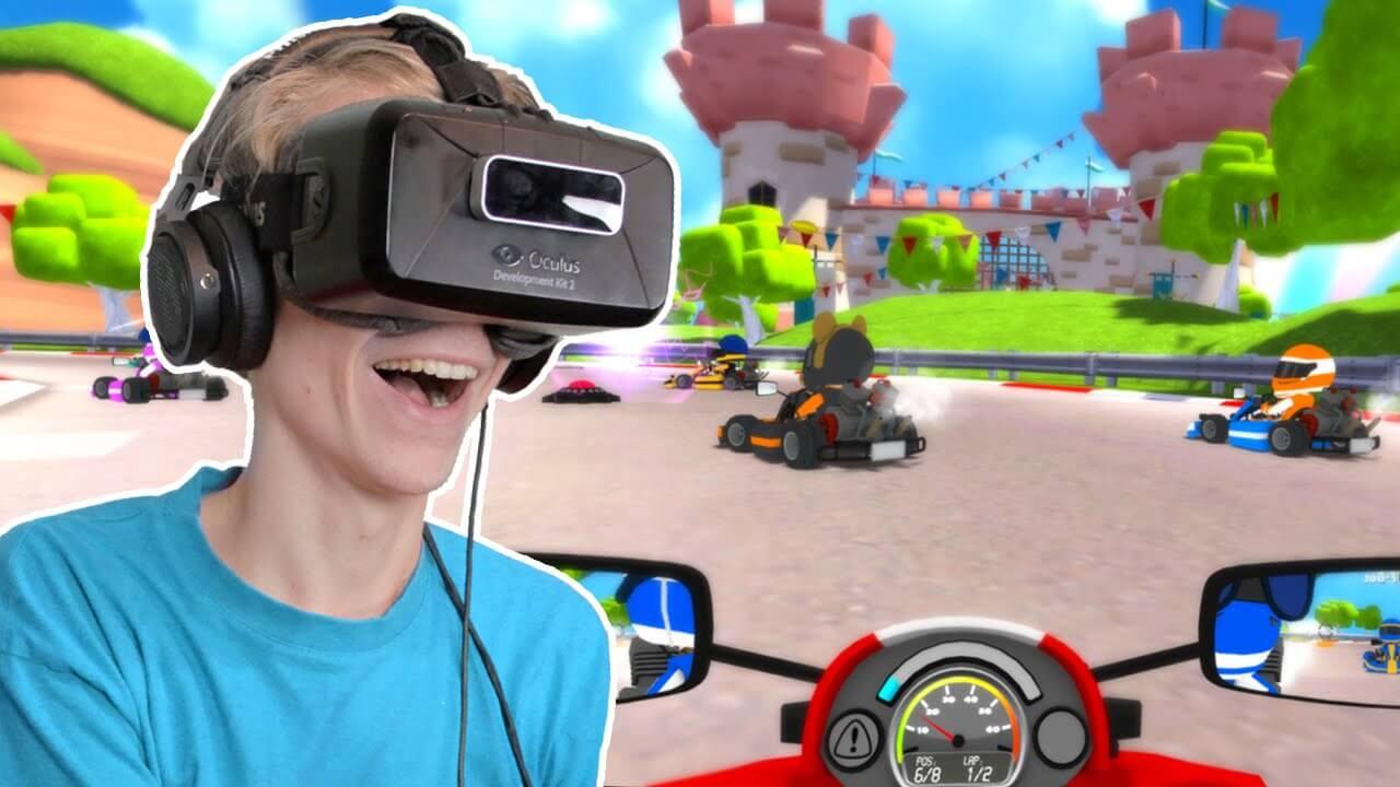 Mario Kart VR é diversão garantida