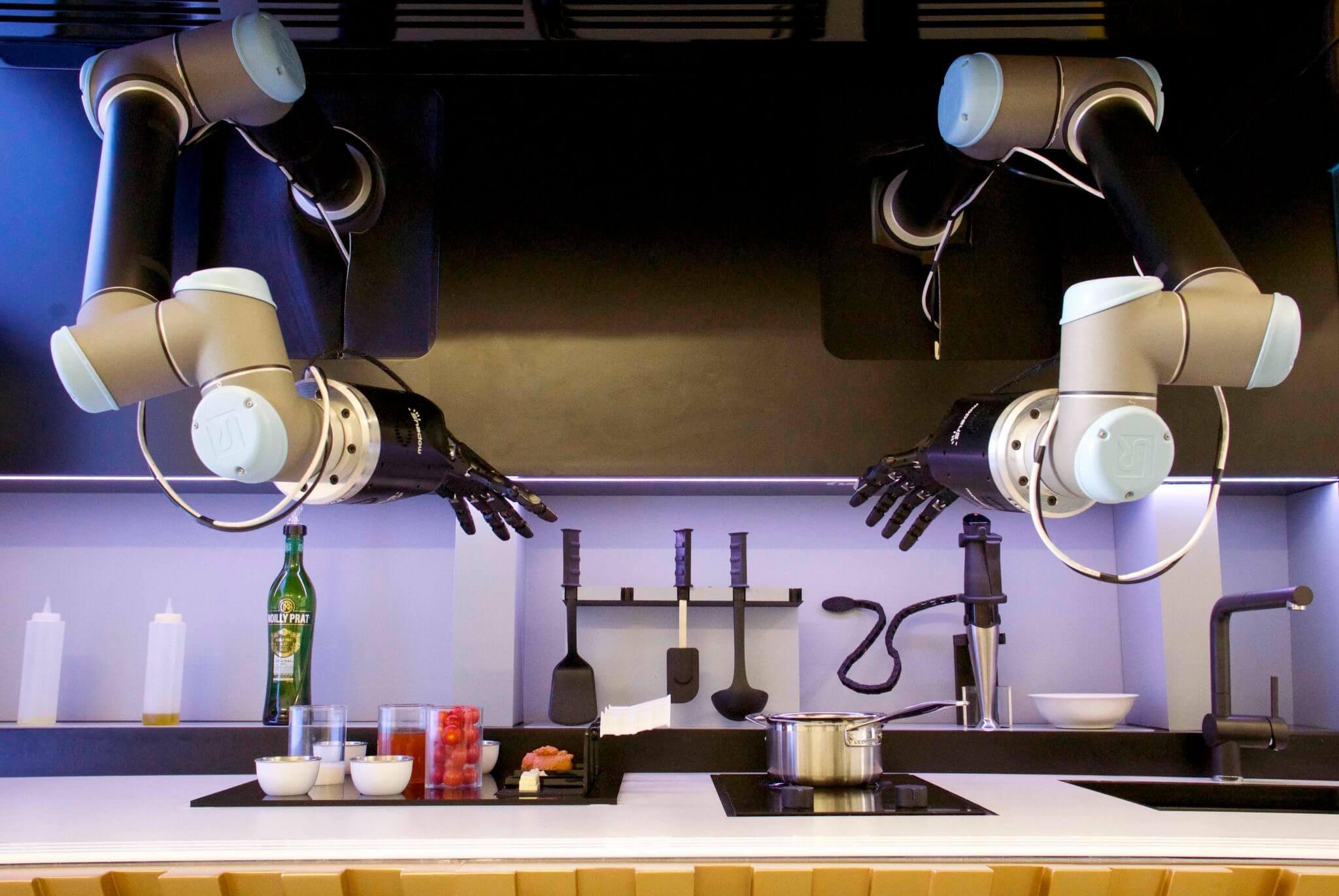 Robo cozinheiro