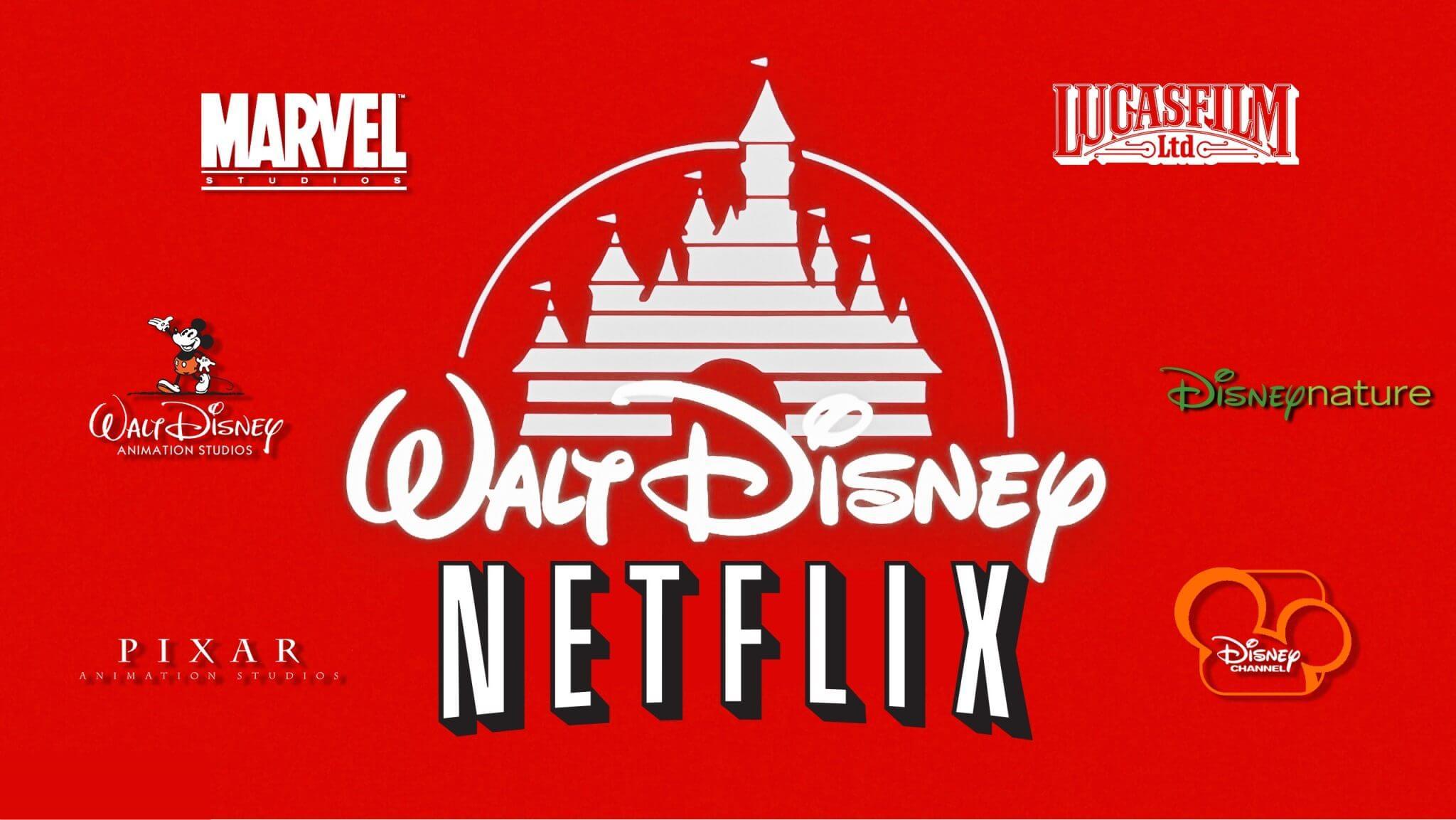 Disney vai sair da Netflix para criar um serviço próprio