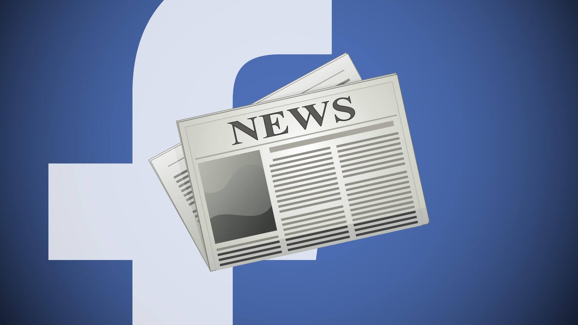 facebook jornalismo