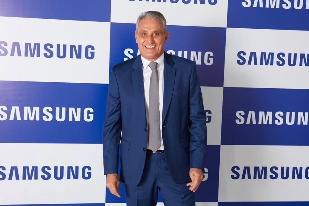 Samsung anuncia patrocínio ao técnico tite