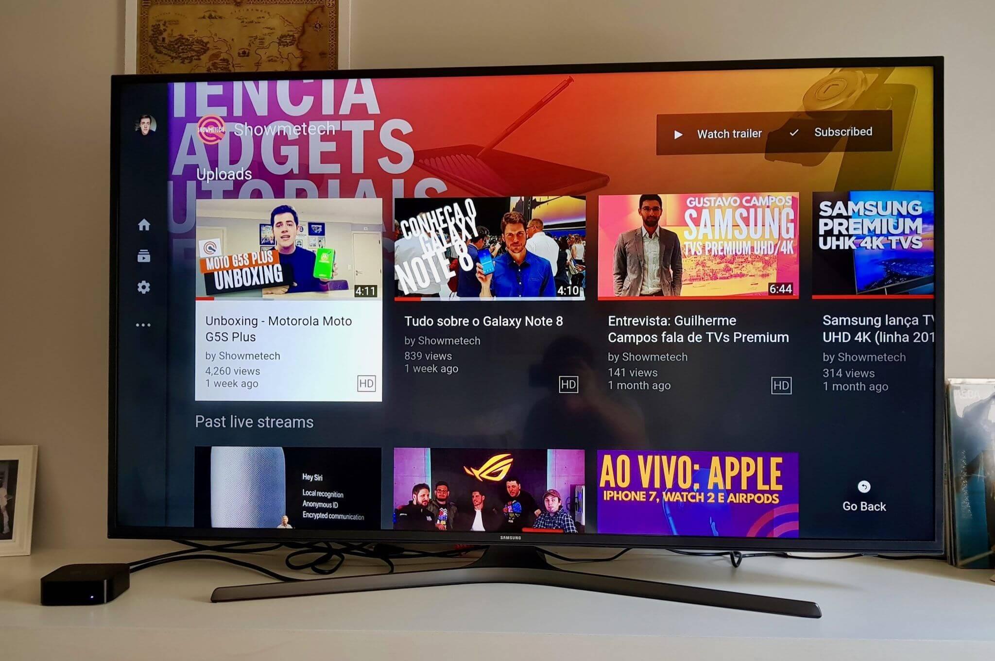 """Review: Samsung Smart TV UHD 55"""", a sua primeira TV 4K de verdade"""