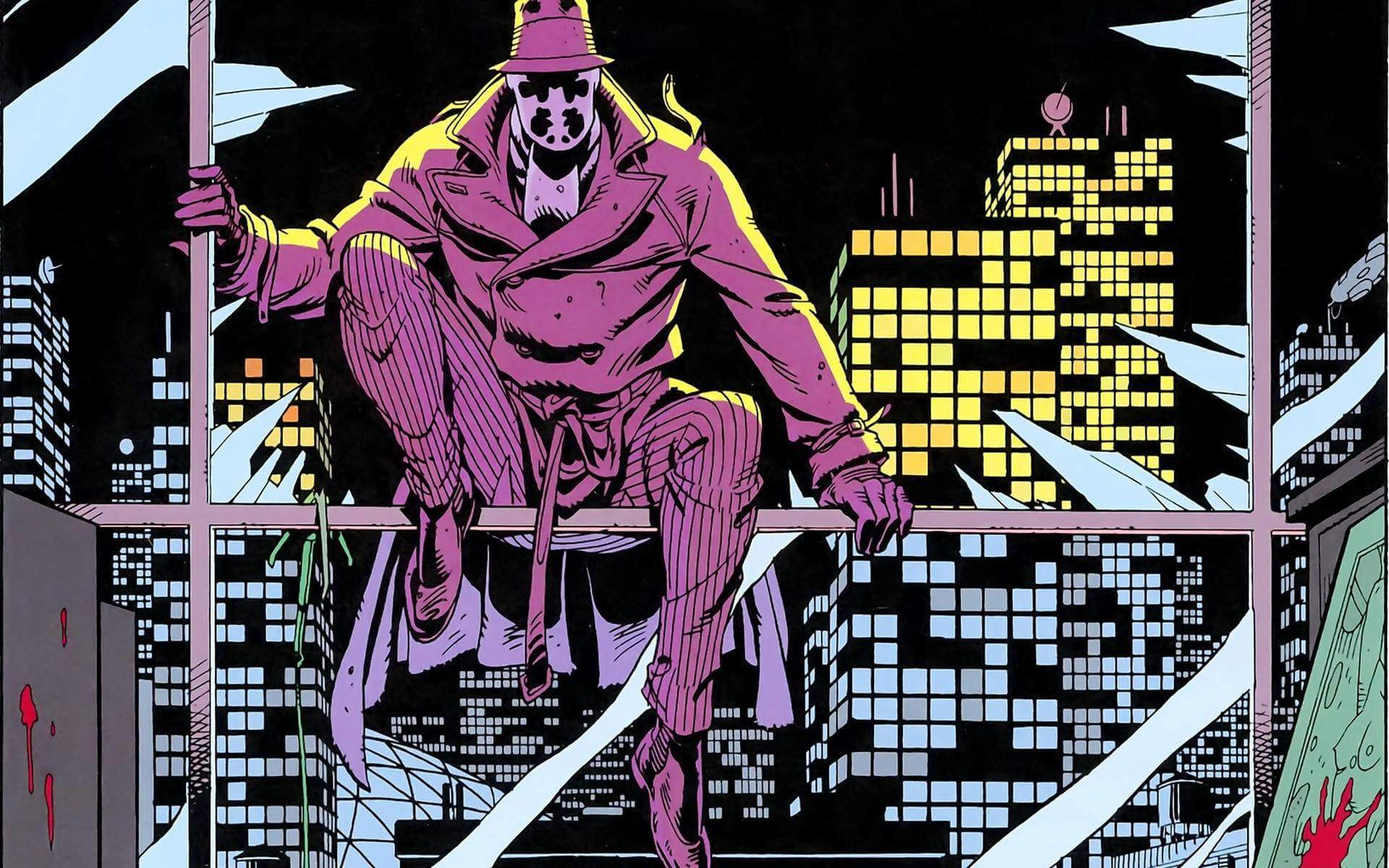 447279 superheroes watchmen graphic novel wallpaper 2 - HBO oficializa série de Watchmen e divulga data de estreia
