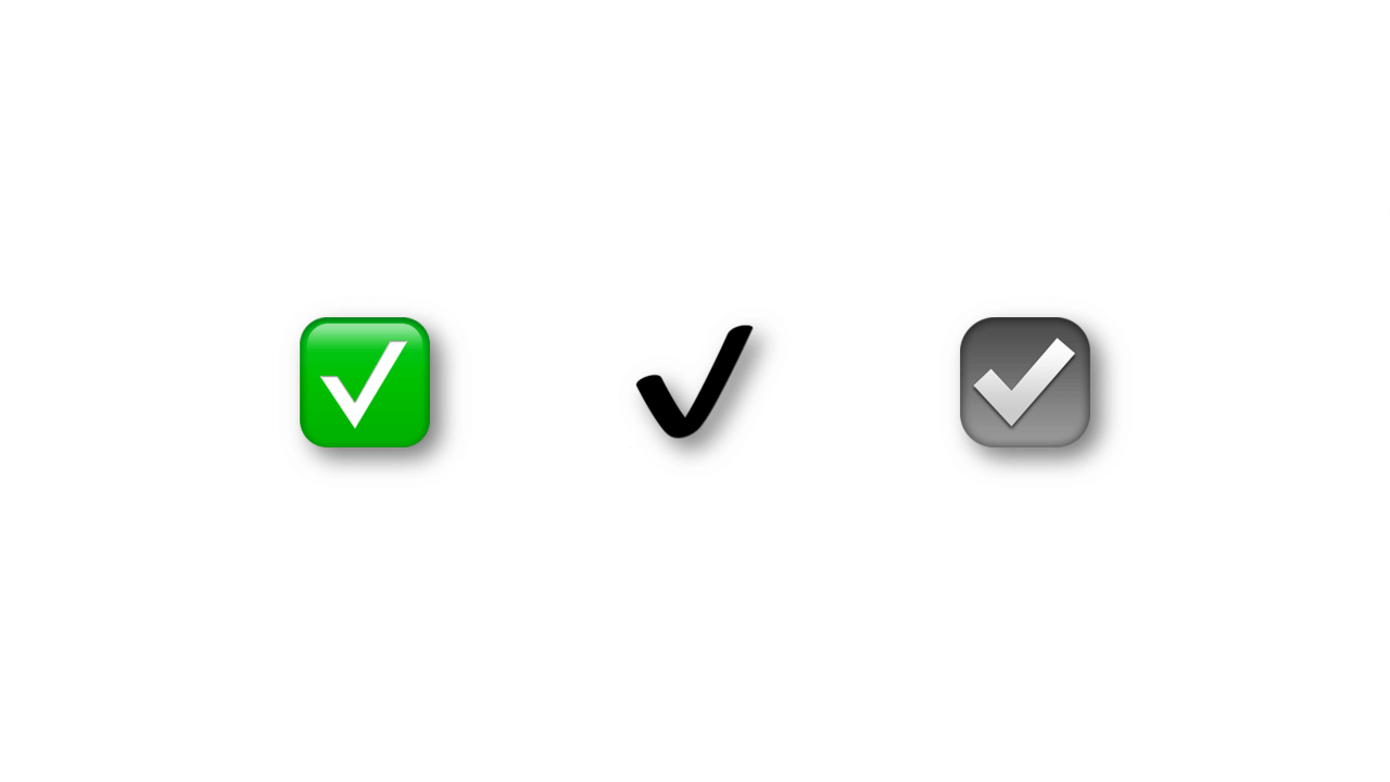 Apresentação1 - Whatsapp bloqueia emojis de 'check' em nomes de pefil; entenda