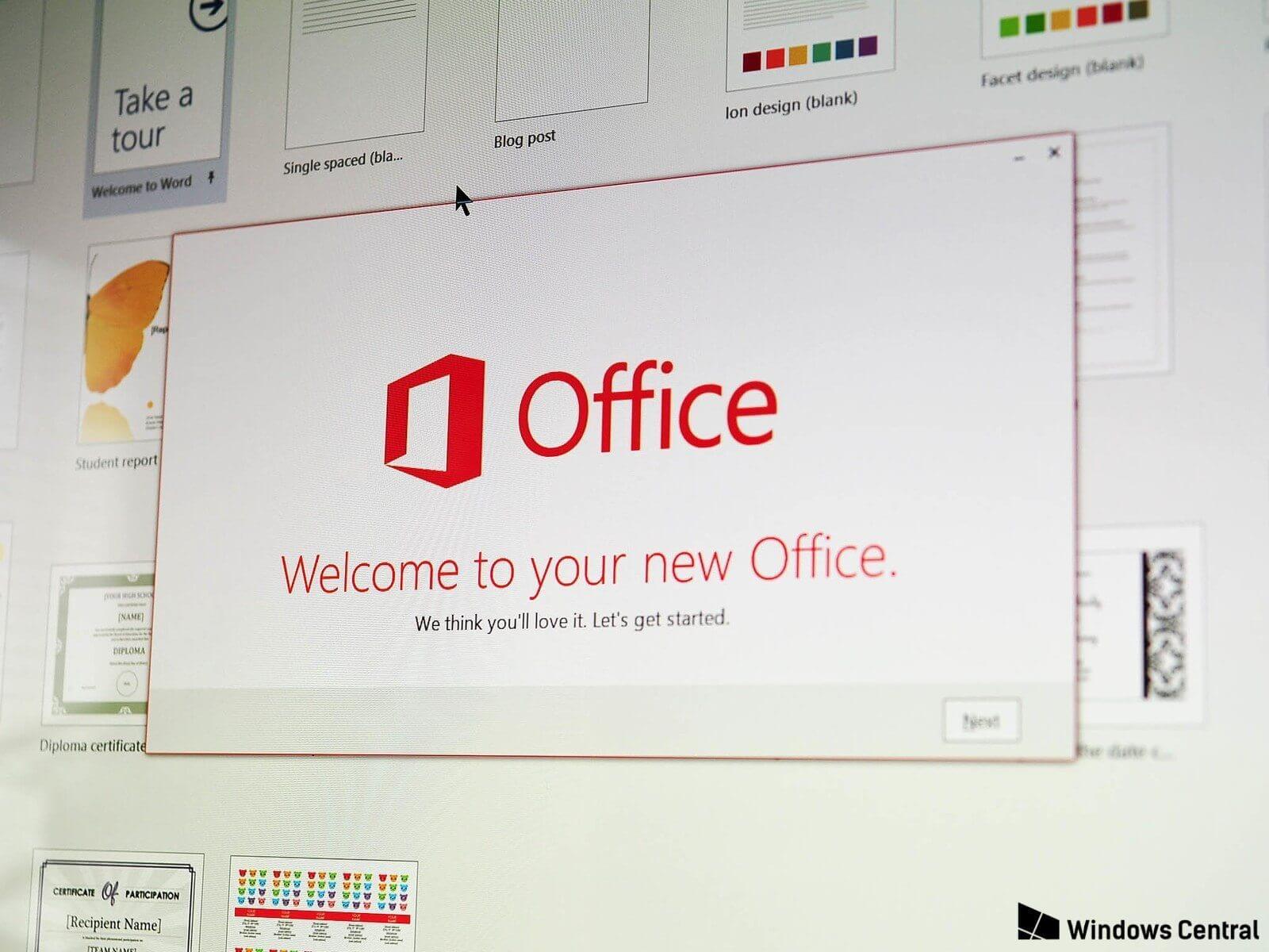 Microsoft anuncia lançamento do novo Office 2019 para 2018