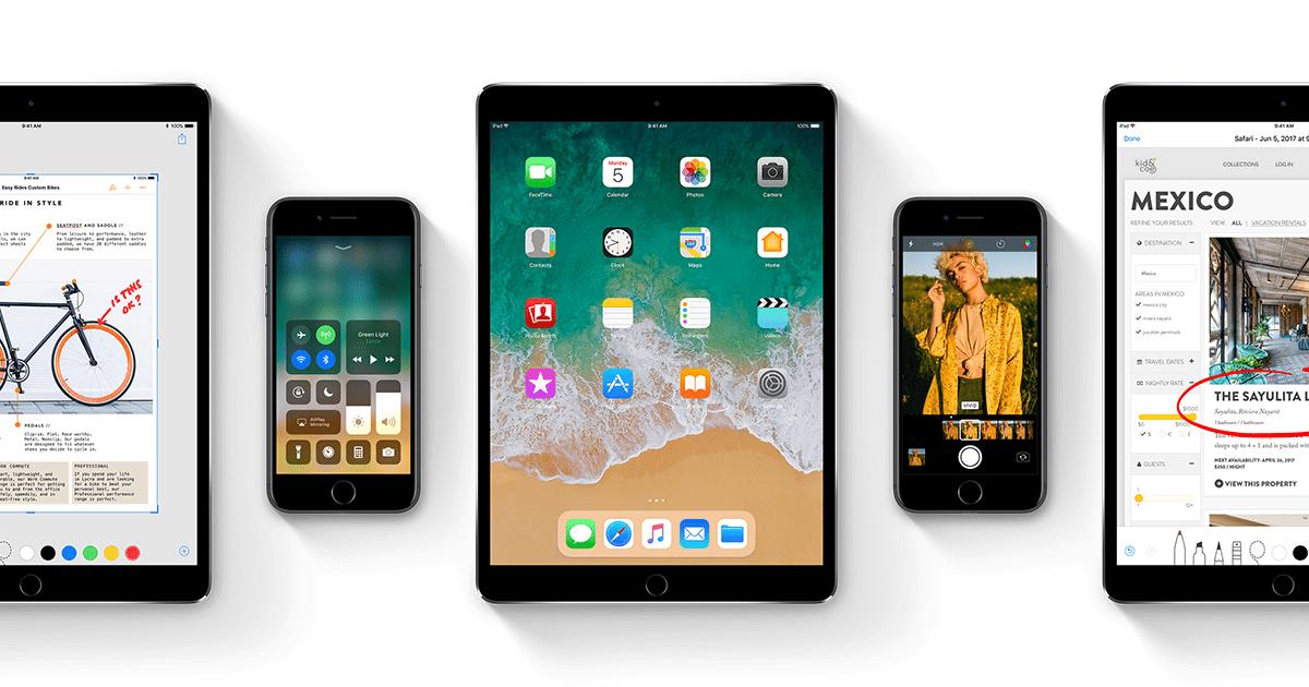 Oficial: novo iOS 11 já está disponível para todo mundo