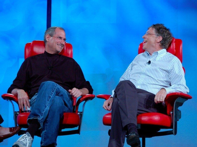 The strange love hate relationship between bill gates and steve jobs