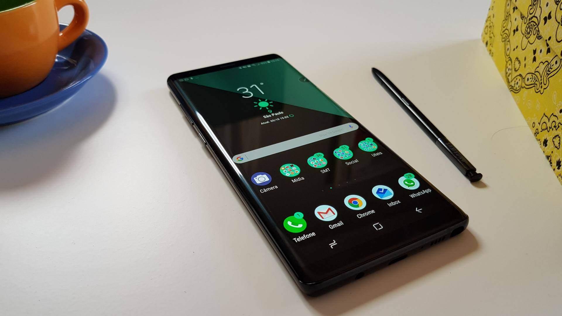 Galaxy Note 8 e S Pen 6