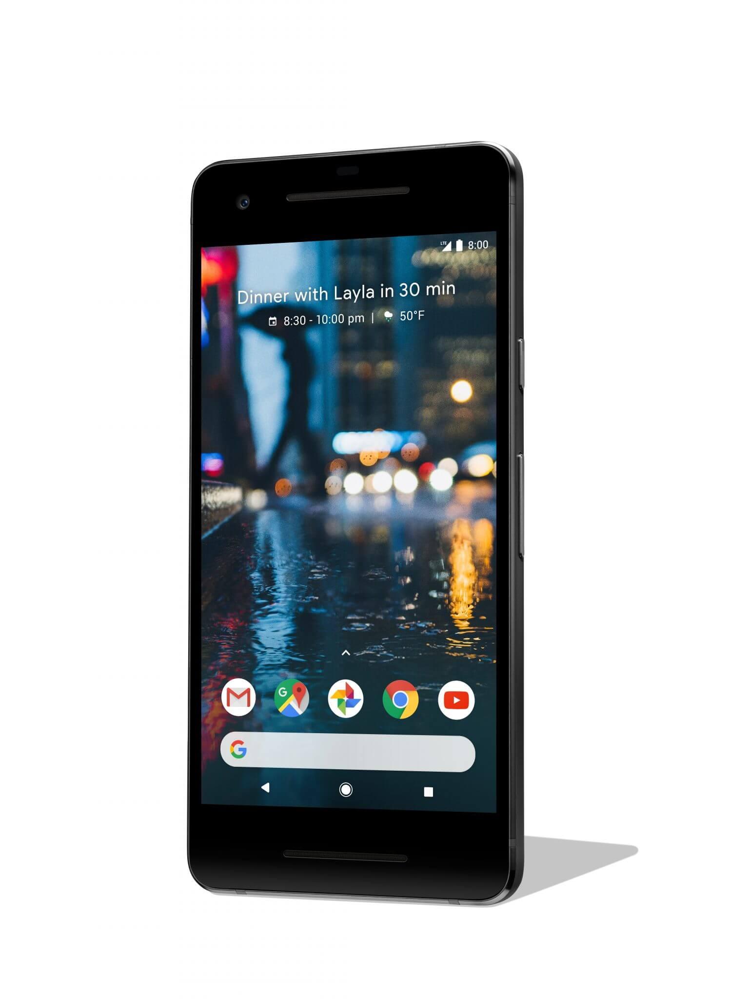 Pixel 2 front - Google anuncia Pixel 2 e Pixel 2 XL; confira os detalhes