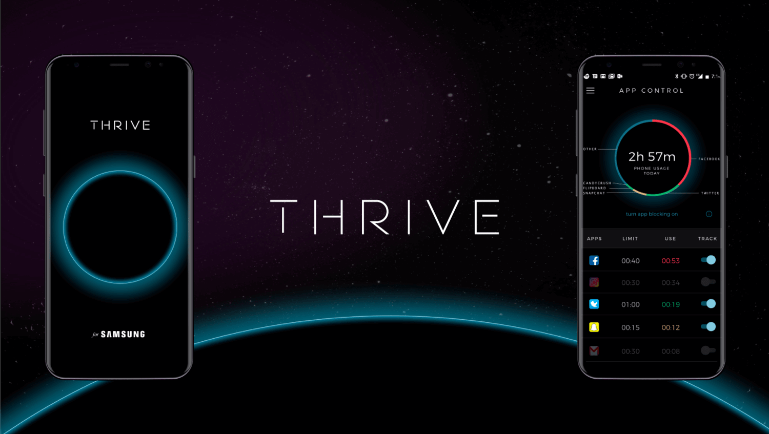 Aplivativo Thrive