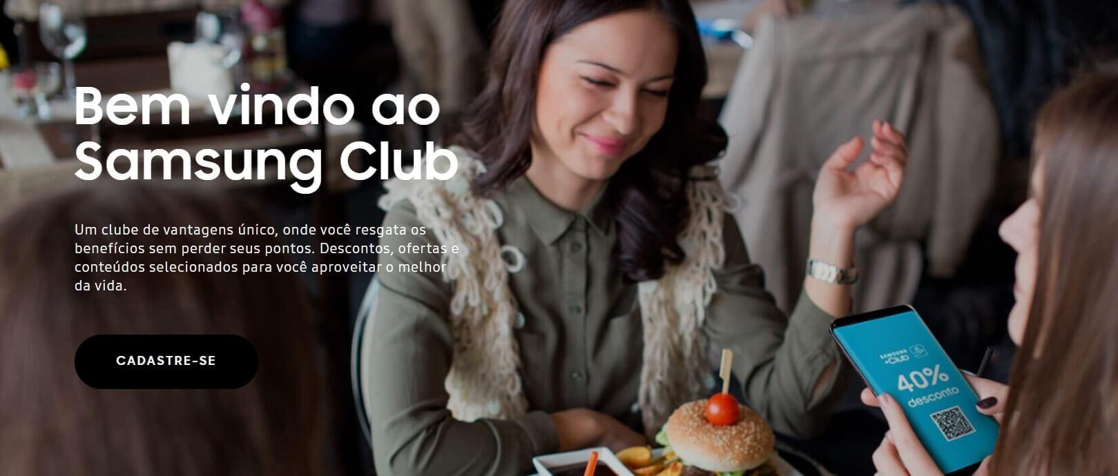 Samsung club disponibiliza benefícios exclusivos na área da educação