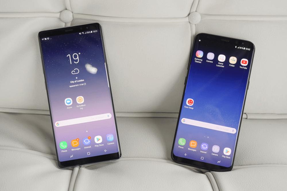 Teste de velocidade: Galaxy Note 8 x Galaxy S8 Plus