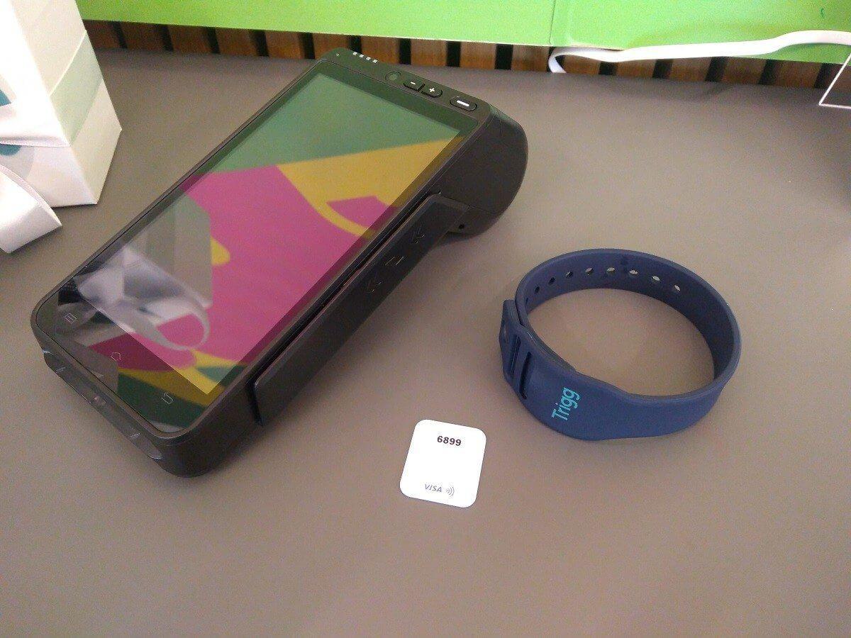 Trigg lança cartão de crédito em formato de pulseira