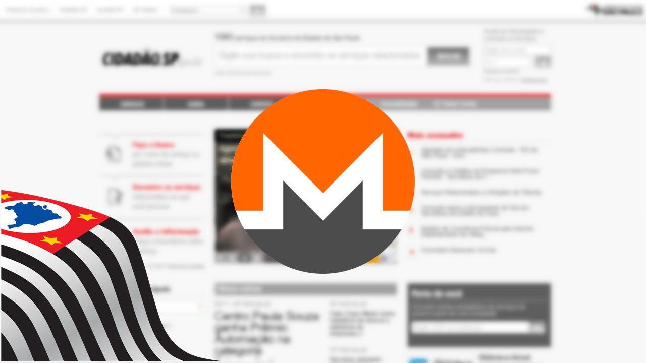 Apresentação1 - Site do governo de São Paulo minerava criptomoedas nos PCs de internautas