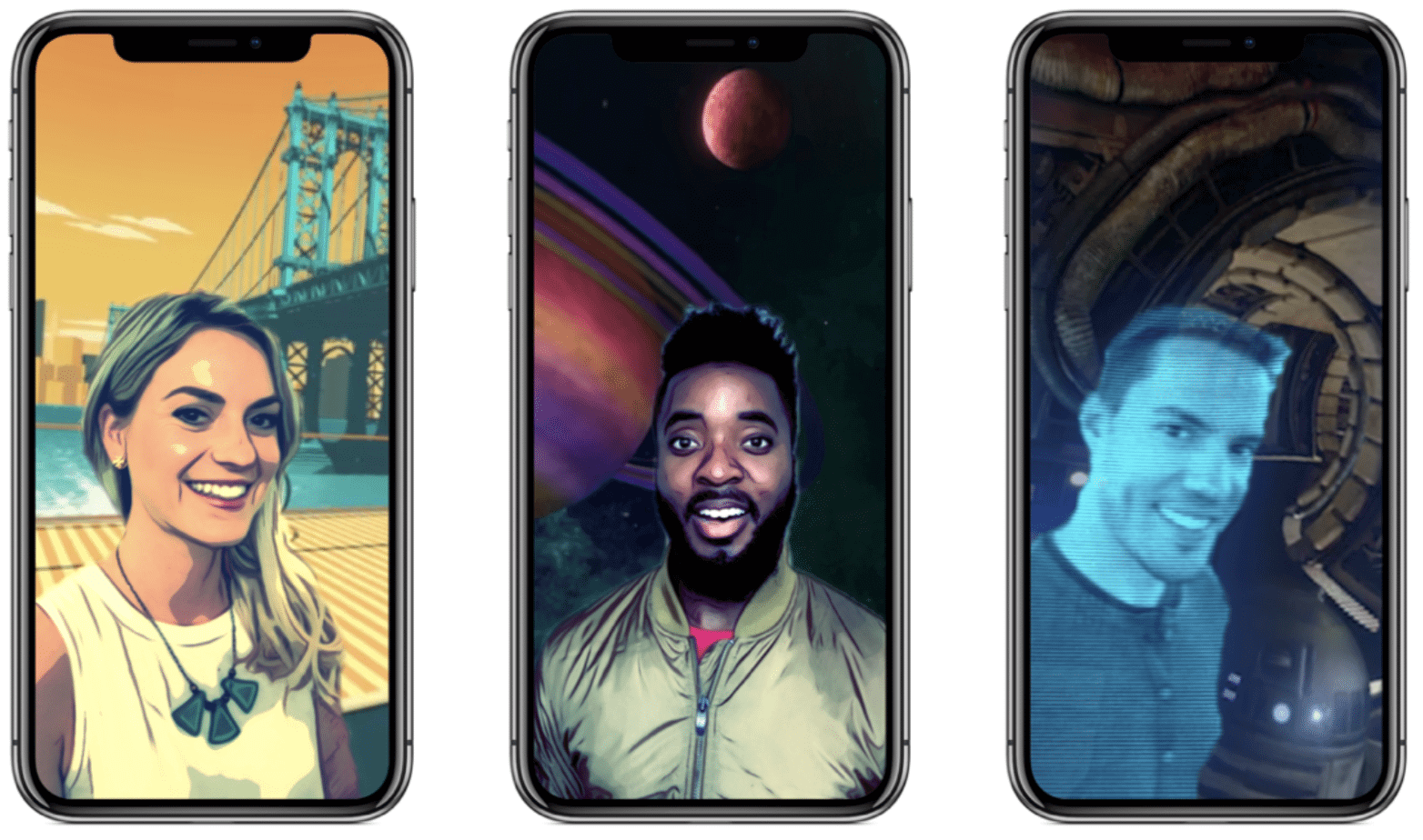 Captura de Tela 2017 11 09 às 12.46.55 - Clips, da Apple, ganha versão 2.0 com novidades e suporte ao iPhone X