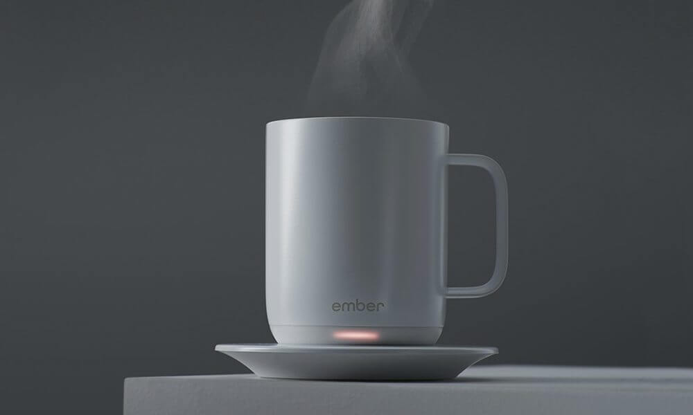 Ember Ceramic Mug Keeps Your Coffee at the Perfect Temperature 1