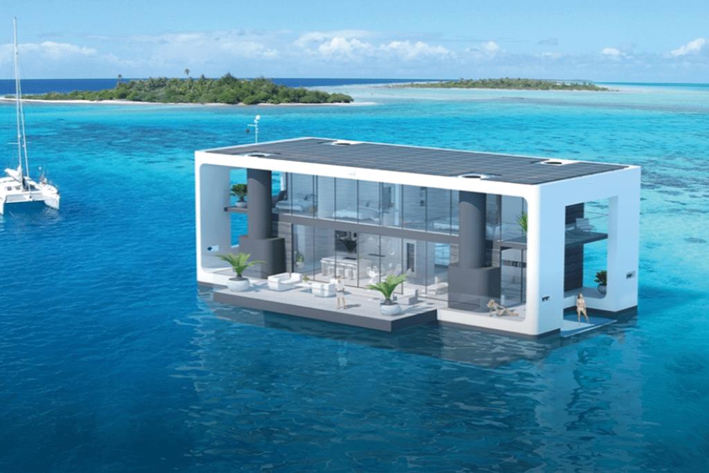 casa - Arquiteto holandês desenvolve casa flutuante que suporta furacões