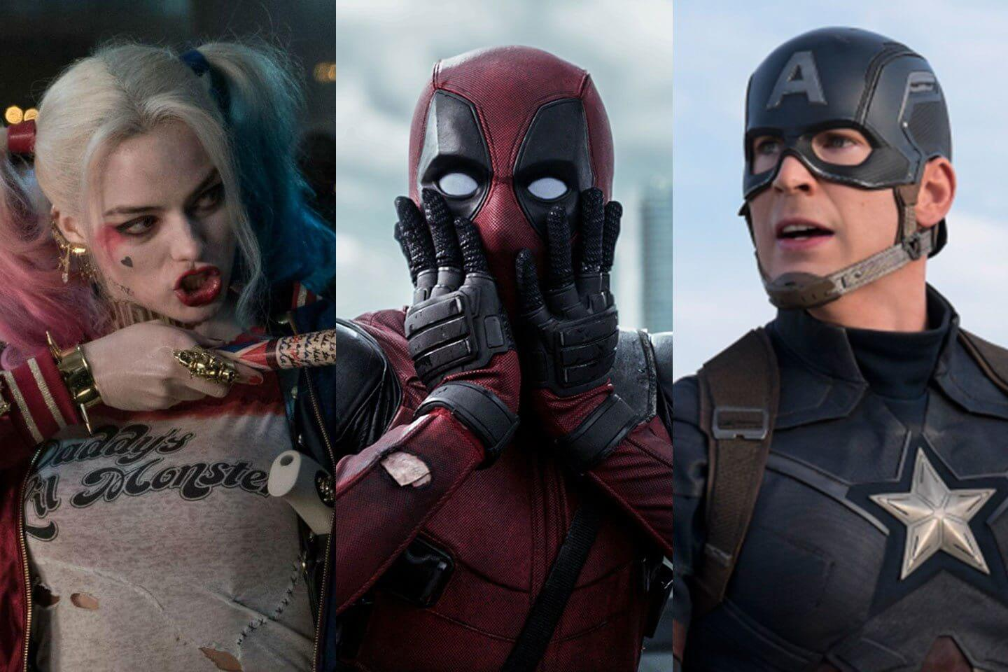 comic book movies 2016