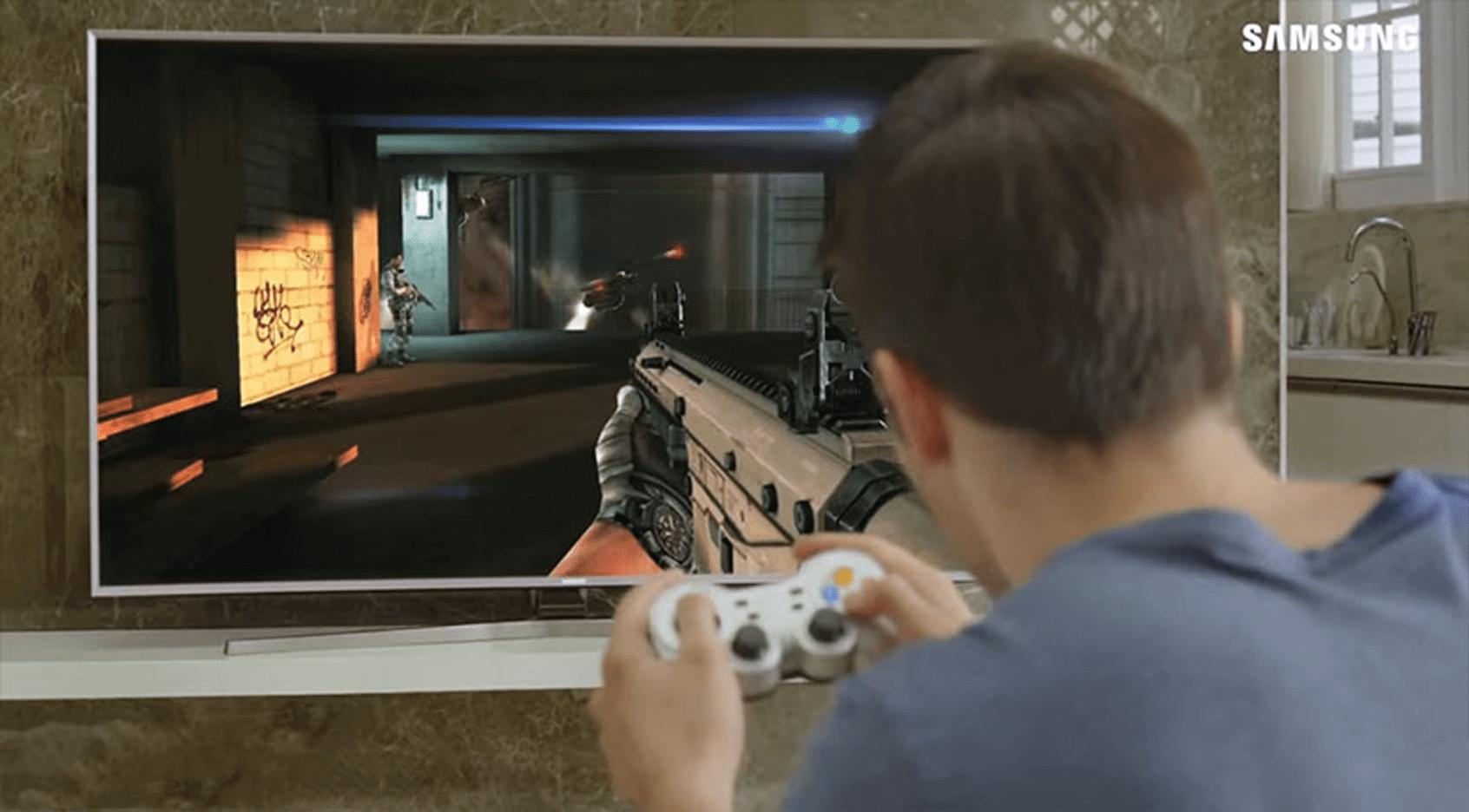 Confira algumas TVs UHD Samsung que atendem o público gamer