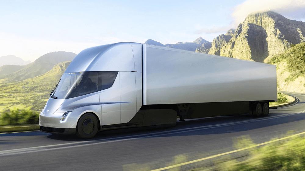 Tesla apresenta caminhão elétrico e novo Roadster