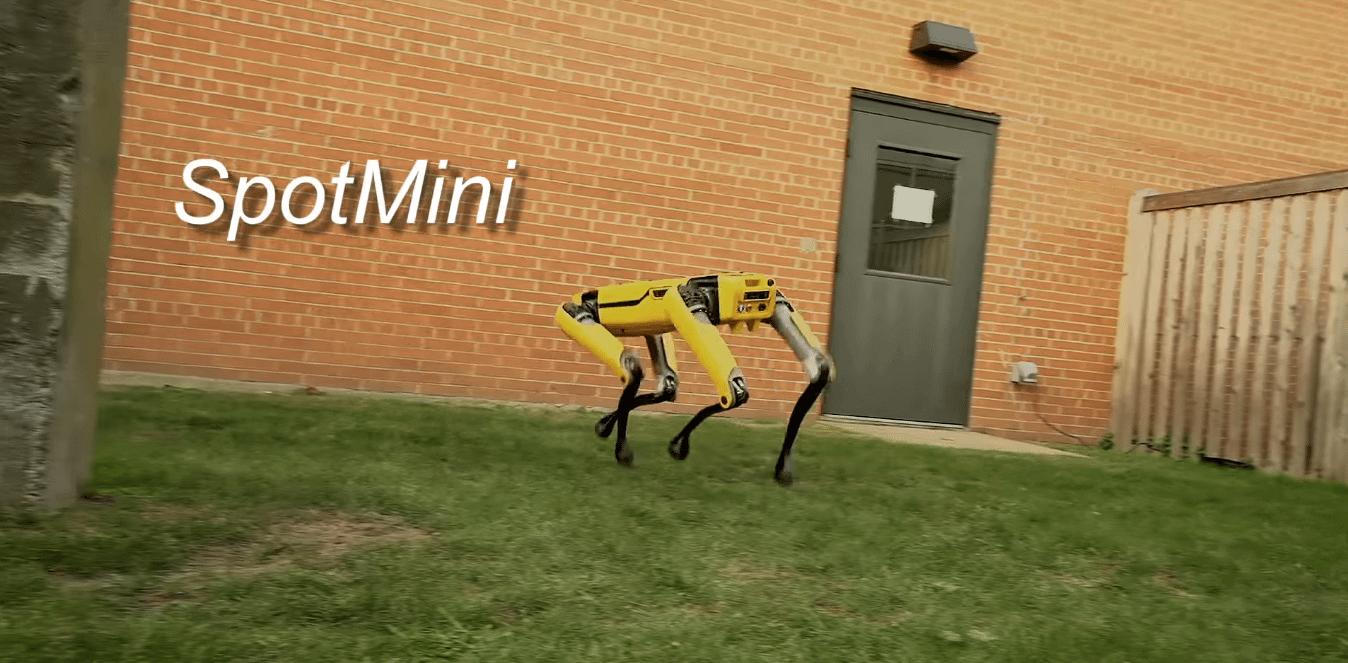 Robô quadrúpede Spot Mini ganha uma nova versão