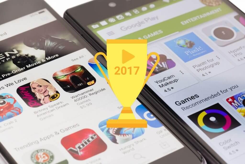 Confira o que houve de melhor na Play Store em 2017
