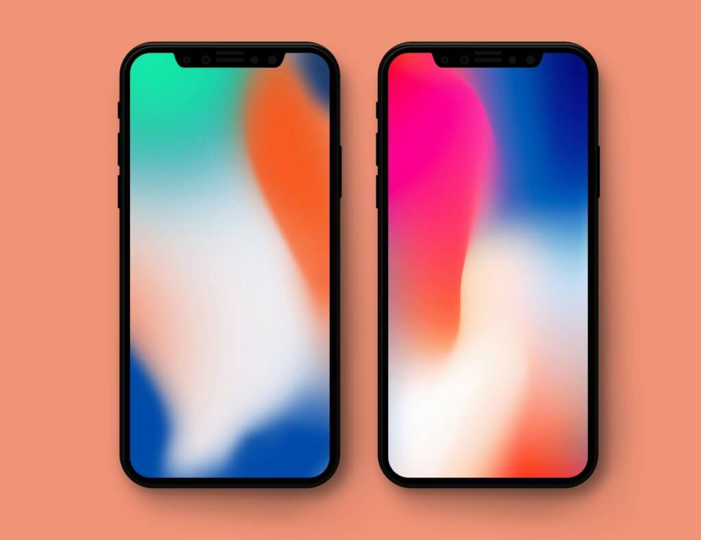 iPhone X presentation wallpapers splash 1024x789