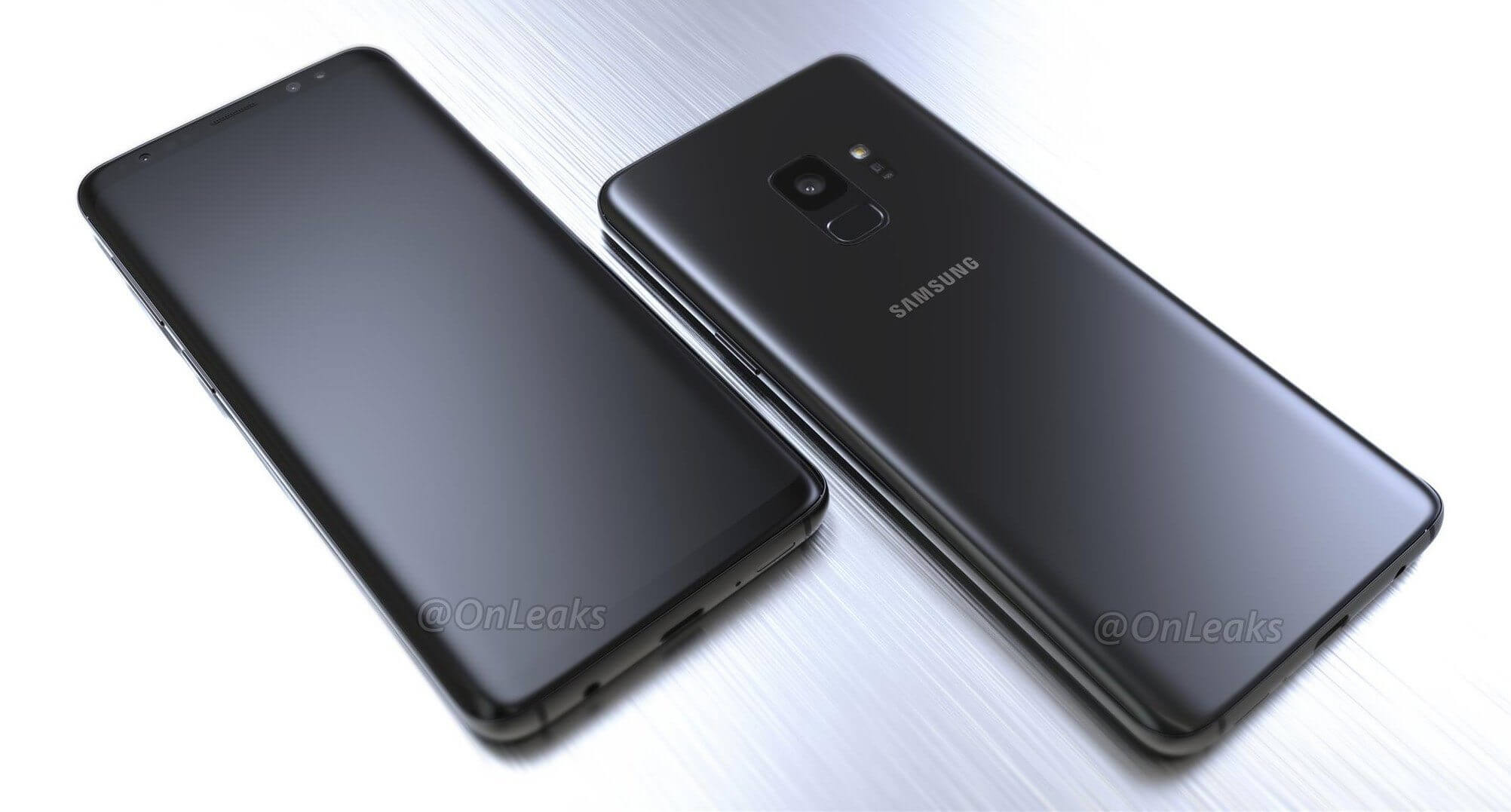 New galaxy s9 renders 2