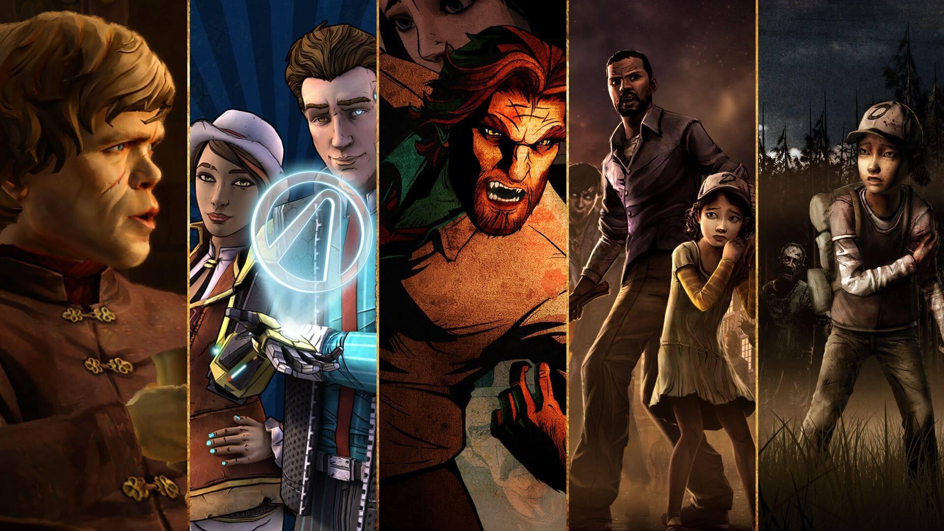 Nosso Top 5 jogos da Telltale Games
