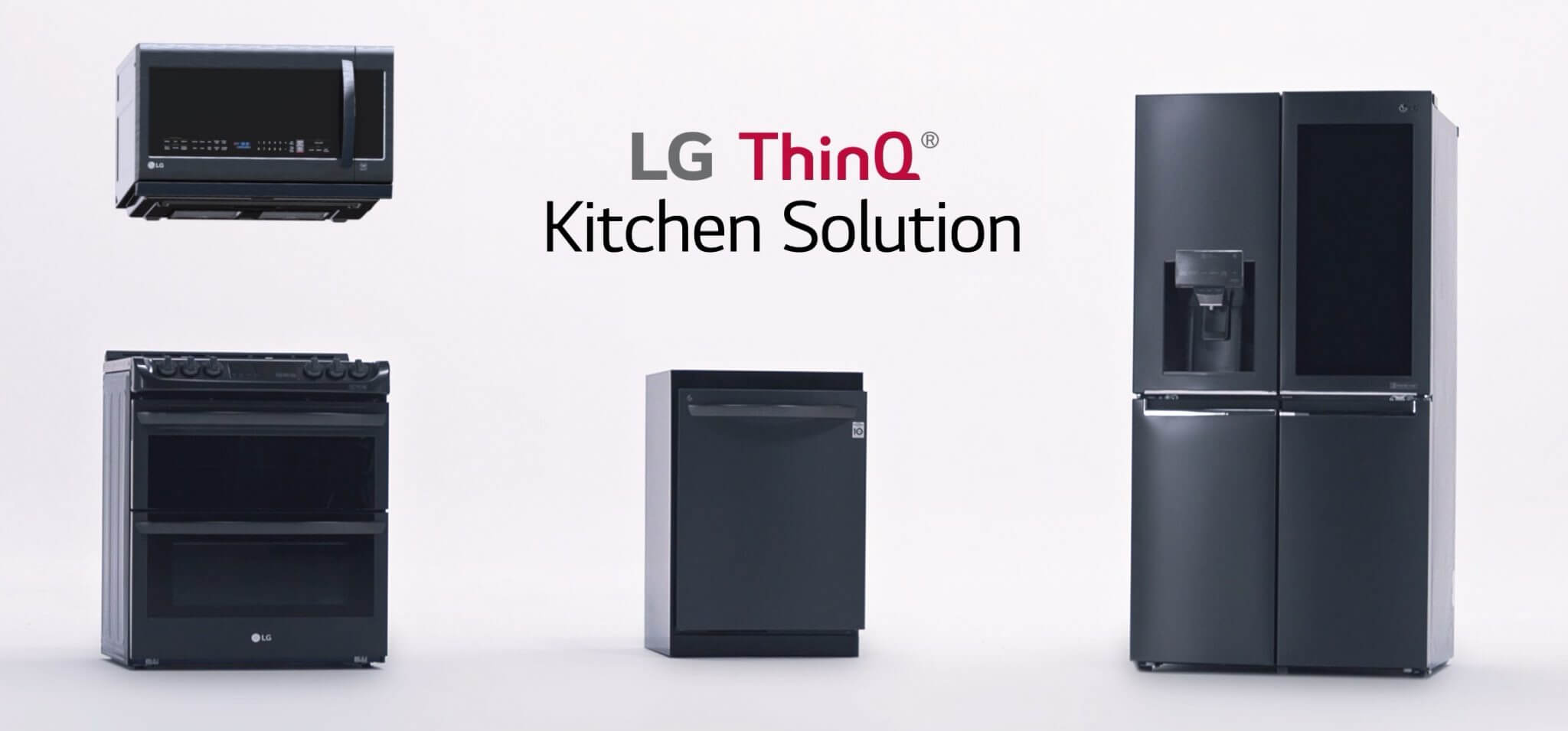LG ThinQ Kitchen Solution Release