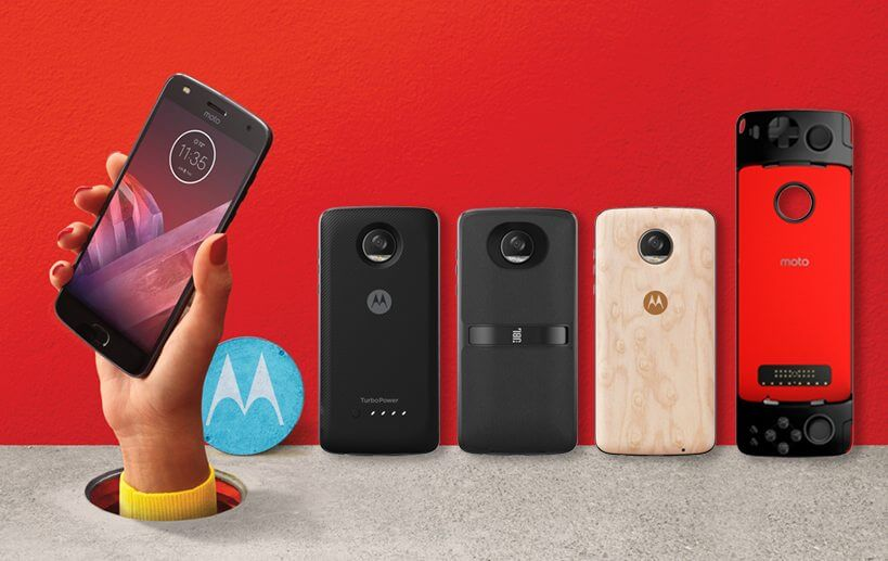 Moto Z2 Play and Moto Mods