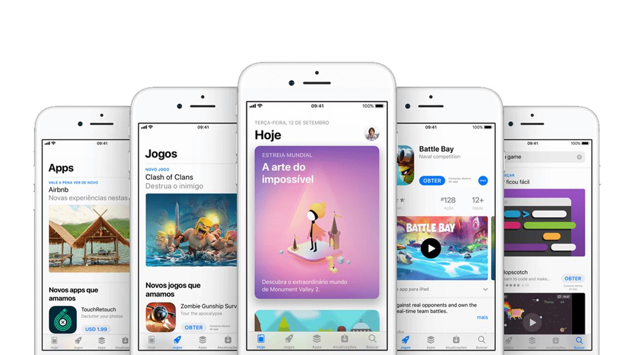Nova App Store para iOS