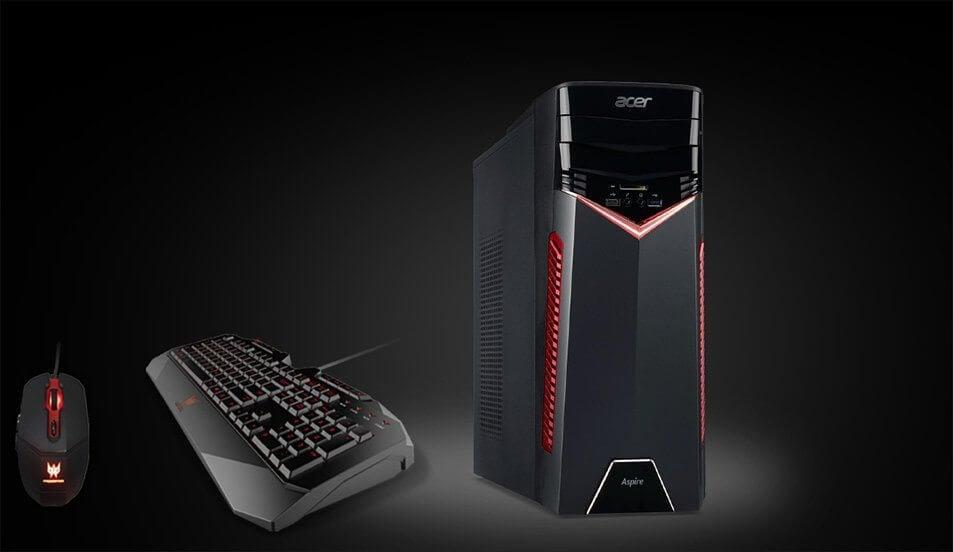 gx - Aspire GX, novo deskop gamer da Acer já está disponível no Brasil
