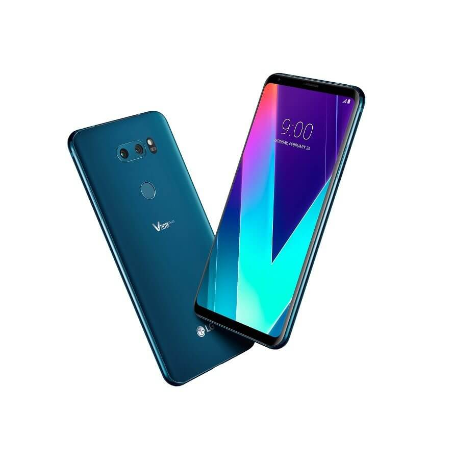MWC 2018 - V30S ThinQ