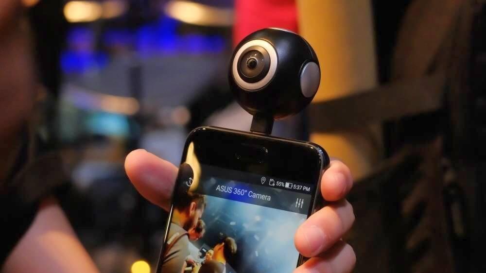 ASUS anuncia câmera 360 e nova versão do Zenfone Selfie e Zenfone 4 2